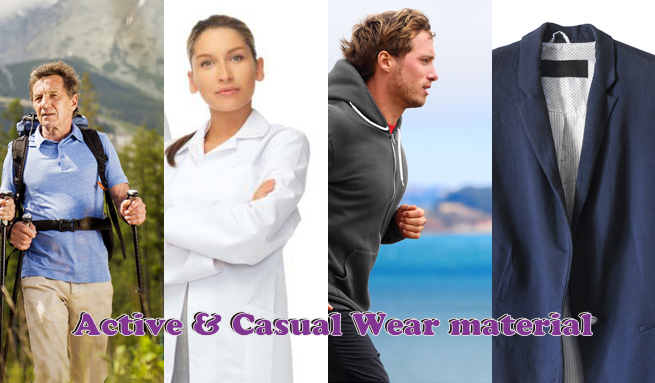 Active & Casual Wear material