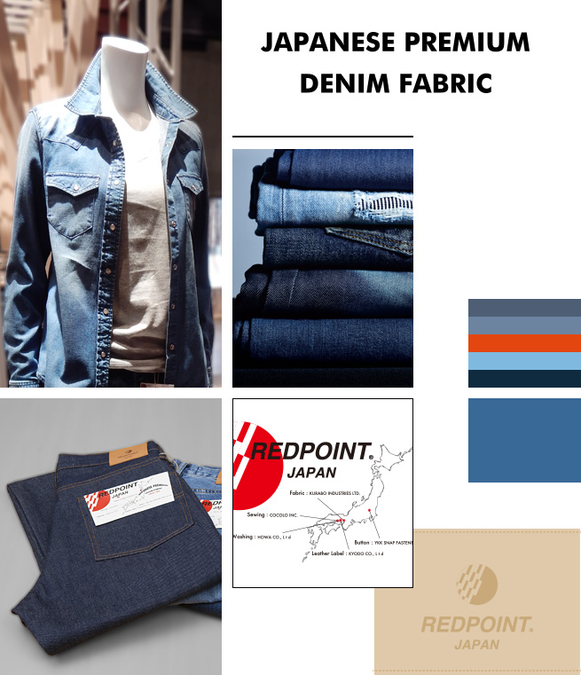 JAPANESE PREMIUM DENIM FABRIC